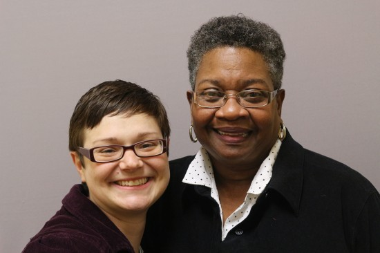 Photo of Jessica Ford and Connie Jones