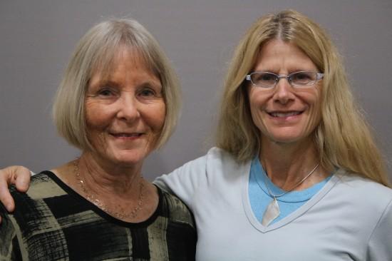 Ann Smith and Karen Linehan
