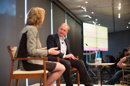 Susan Crawford interviewing Tim Berners-Lee