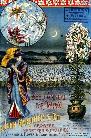 John Gardiner & Co. Seed Annual for 1890. From the NAL Seed Trade Catalog Collection.