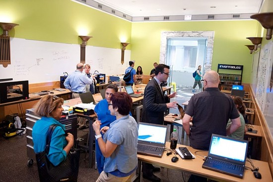 The Maker Lab at the Chicago Public Library