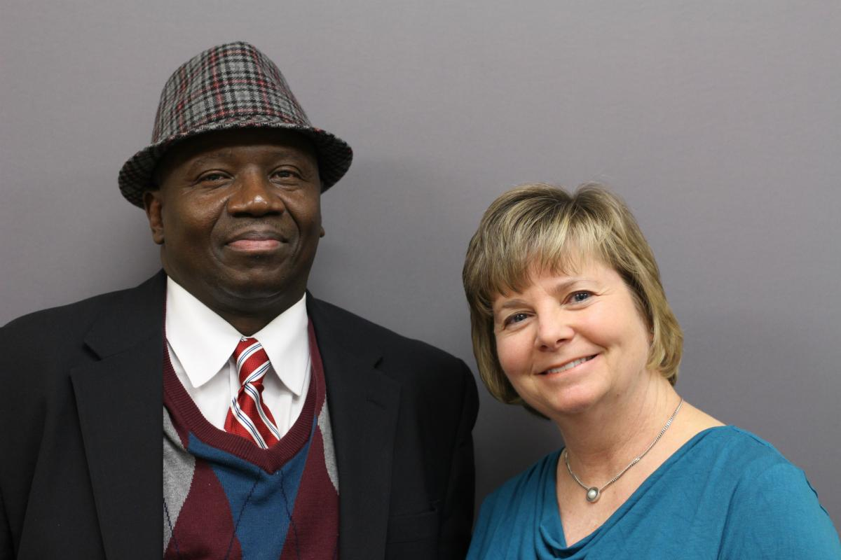 Thomas Cousar and Kathy Galbreath
