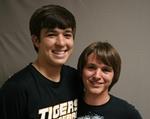 photo of Darren and Matthew