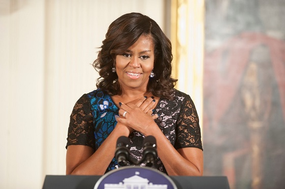 First Lady Michelle Obama speaks at the presentation of the 2016 NAHYP Awards
