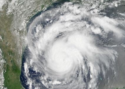 Hurricane image from NASA