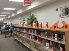 Abilene Public Library Playaway collection