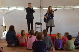 Storytelling Tent with Scott Billington and Johnette Downing