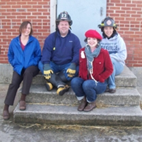 NC C2C Staff: Adrienne Berney, Matthew Hunt, Michelle Vaughn, and LeRae Umfleet