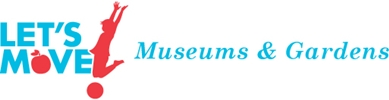Let's Move! Museums & Gardens logo