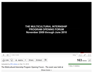 The Multicultural Internship Program Opening Forum – Highlights