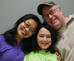 Photo of han-Yu, Everett, and Eric.