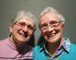 Photo of Mary Margaret and Carol