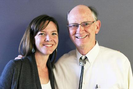 Lydia and Robert Breunig