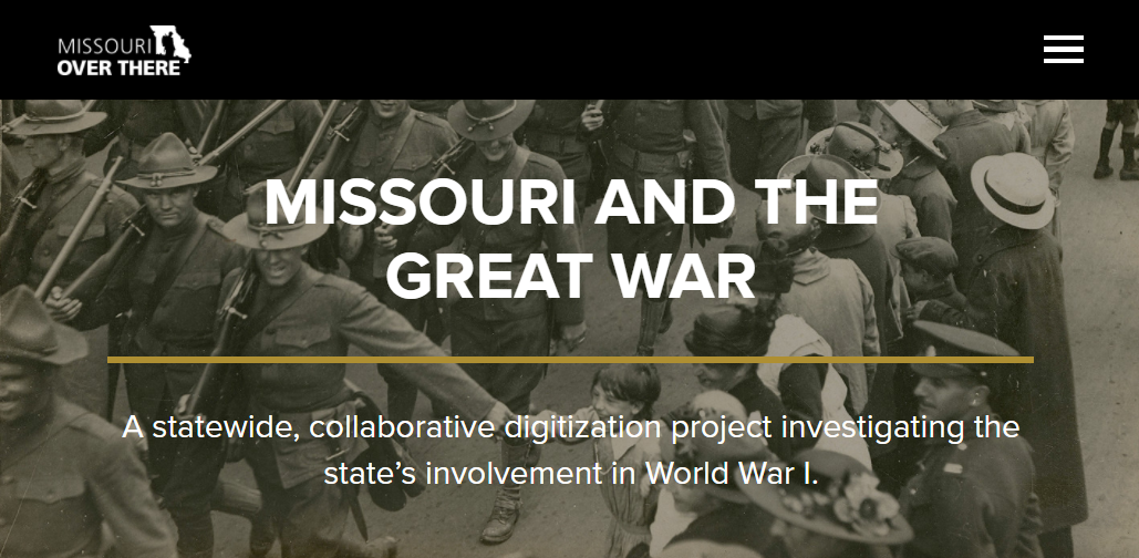 missouri and the great war website image