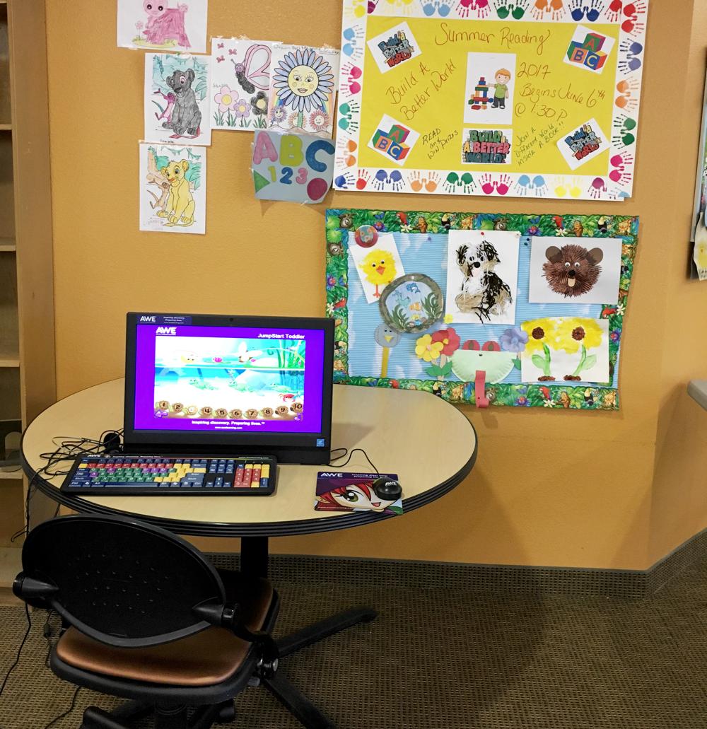 computer work station