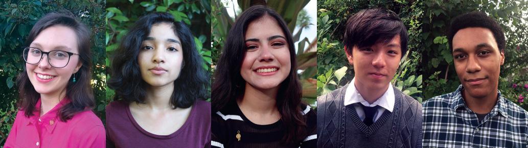 2020 National Student Poets Winners