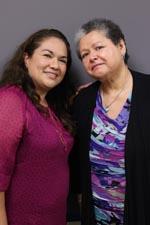 SylviaGalan-Garcia (R) and Lupie Leyva (L)