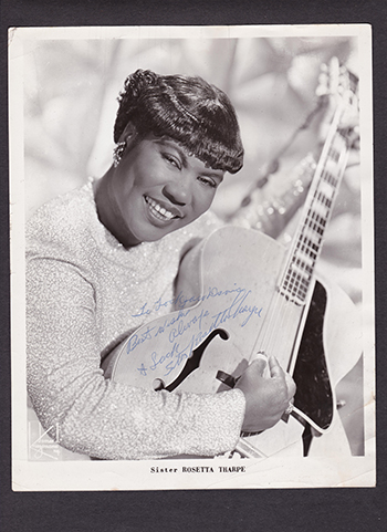 R&B, Rock and Roll pioneer Rosetta Tharpe