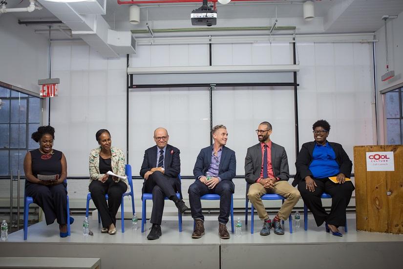 Museum panelist during program launch