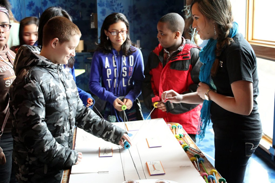 he Detroit Zoological Society's Tomorrow's Leaders Today program participants explore science concepts in hands-on, interactive workshops.