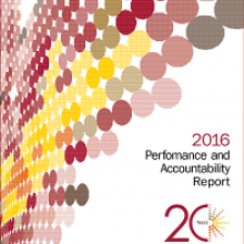 2016 Performance and Accountability Report Publication Thumbnail