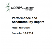 2015 Performance and Accountability Report Publication Thumbnail