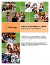Cover of Office of Museum Services Update: Building Capacity and Leadership