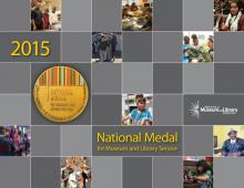 2015 National Medal for Museum and Library Service brochure