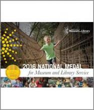 Cover of the 2016 National Medal for Museum and Library Services brochure