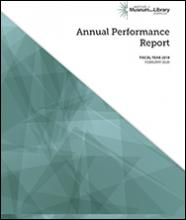 IMLS FY 2019 Annual Performance Report