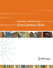Cover of Museums, Libraries, and 21st Century Skills Report