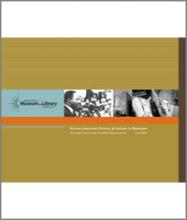Cover of African American History & Culture in Museums: Strategic Crossroads and New Opportunities