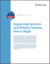 Cover of Supporting Veterans and Military Families: How To Begin