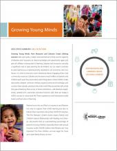 Cover of Growing Young Minds: Executive Summary