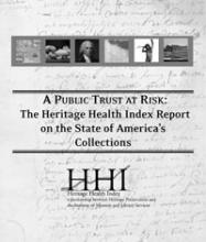 Cover of Heritage Health Index - Full Report