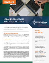 Cover of Libraries, Broadband, and Digital Inclusion