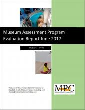 Cover of Museum Assessment Program Evaluation Report June 2017