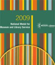 Cover of 2009 National Medal for Museum and Library Service