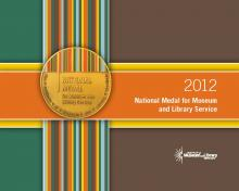 Cover of 2012 National Medal for Museum and Library Service brochure