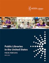 Cover of Public Libraries in the United States Survey: Fiscal Year 2016