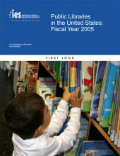 Cover of Public Libraries in the United States: Fiscal Year 2005