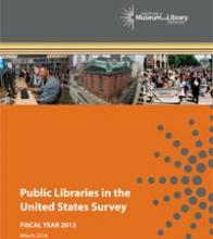 FY2013 Public Libraries Survey cover