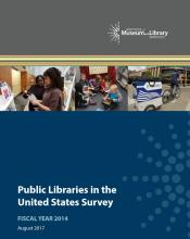 Cover of Public Libraries in the United States Survey: Fiscal Year 2014