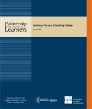 Cover of Partnership for a Nation of Learners: Joining Forces, Creating Value