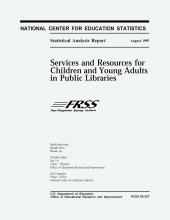 Cover of Services and Resources for Children and Young Adults in Public Libraries