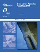 Cover of ED TAB: State Library Agencies: Fiscal Year 2005