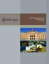 Cover of State Library Agency Survey: Fiscal Year 2010
