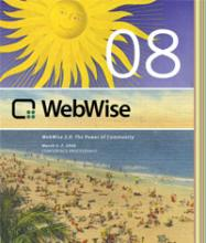 Cover of WebWise 2008 Conference Proceedings