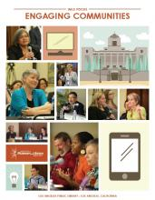 Cover of IMLS Focus Summary Report: Engaging Communities