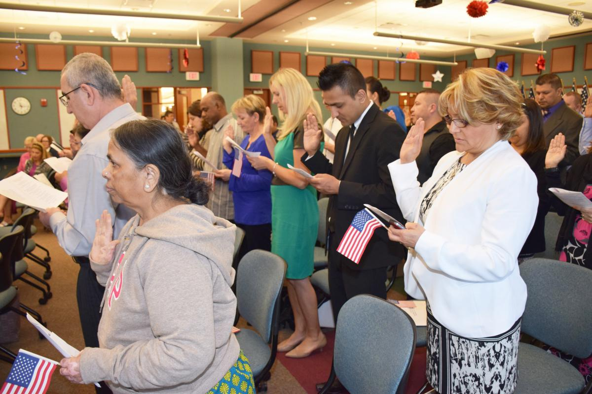 Hosting Naturalization Ceremonies at the Schaumburg Township